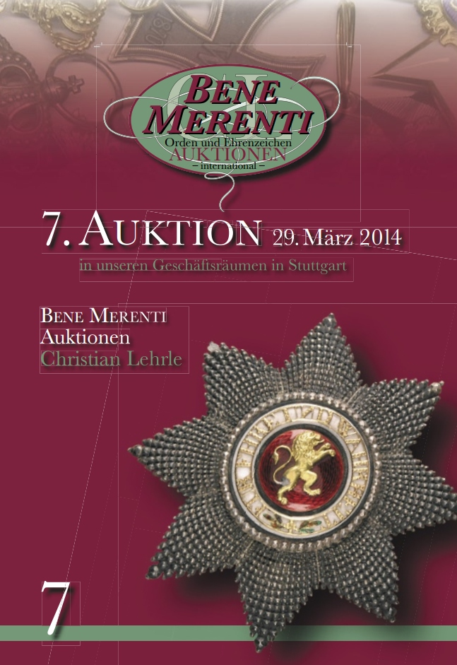 Catalog 7 auction
